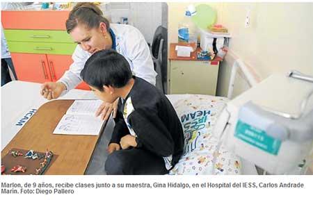 3 974 alumnos reciben clases en aulas hospitalarias este año