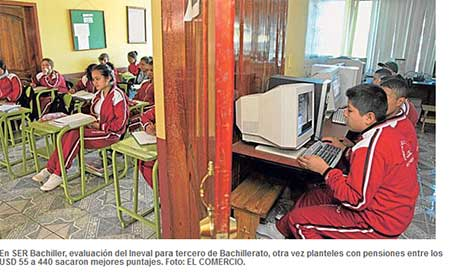 Los colegios más caros en Quito no obtienen la mejor nota