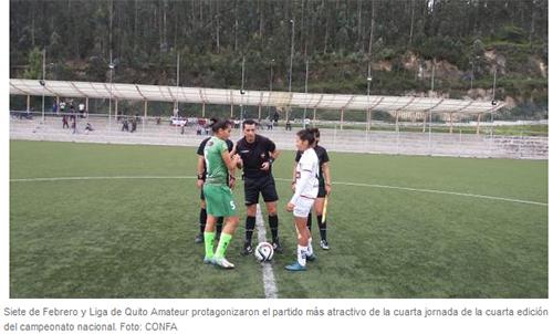El campeón empieza a meter presión en la segunda etapa del campeonato ecuatoriano femenino