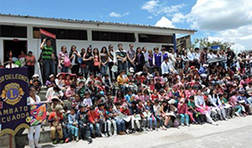 Proyecto social en Alobamba
